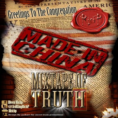 Rich P - Greetings To The Congregation: The Mixtape Of Truth (Mixtape Review)