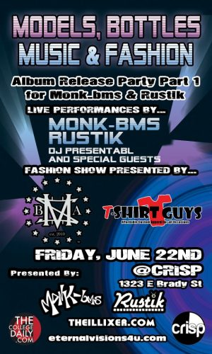 Event News: Monk-bms & Rustik Present: An Album Release Party (Part 1)