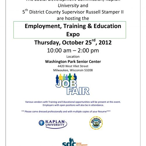 Spotlight On: SDC Employment, Training, & Education Expo 2