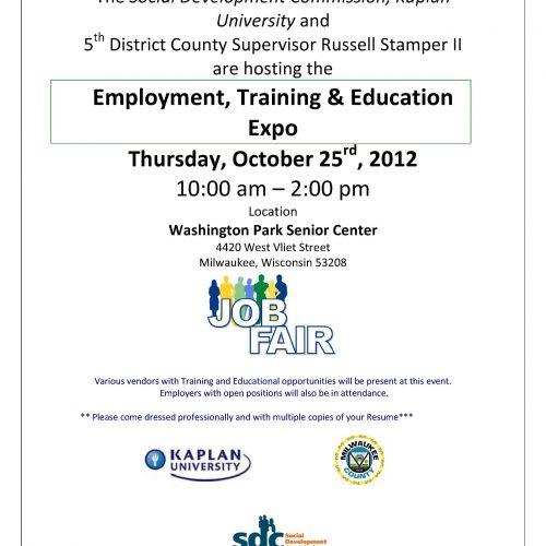 Spotlight On: SDC Employment, Training, & Education Expo 2