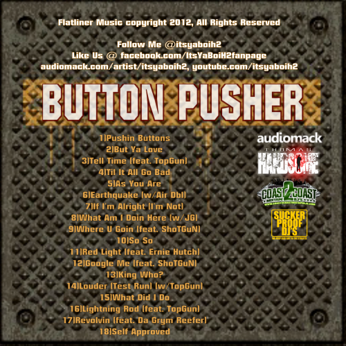 ItsYaBoiH2 - Button Pusher (Mixtape Review)