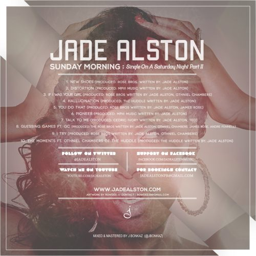 Jade Alston - Sunday Morning: Single On A Saturday Night Part 2 (EP Review)