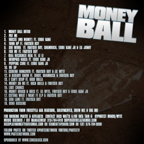 Partee - Money Ball (Mixtape Review)