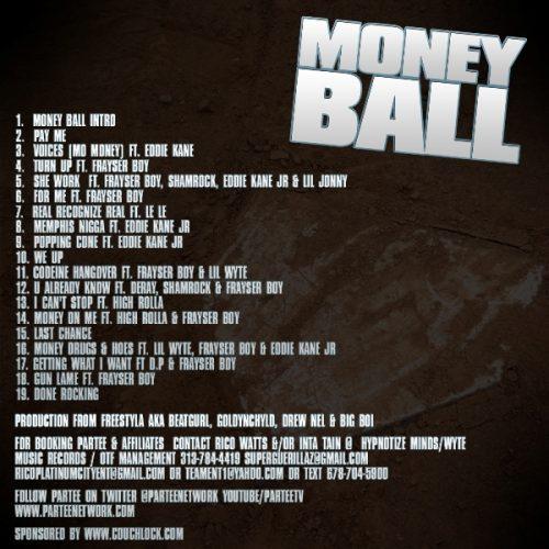 Partee - Money Ball (Mixtape Review)