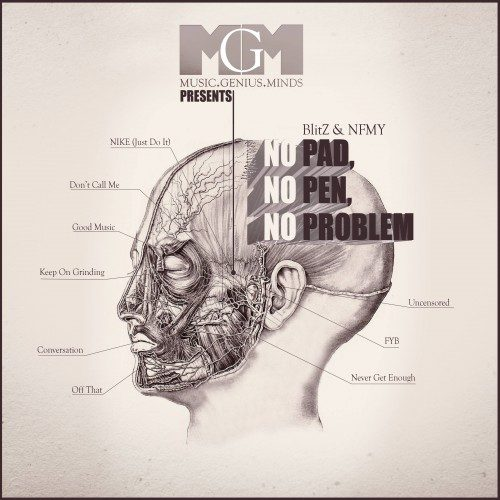 Guest Pen: BlitZ & NFMY - No Pad, No Pen, No Problem (Mixtape Review)