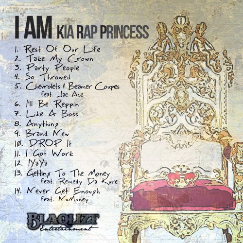 Kia Rap Princess - I Am Kia Rap Princess (Mixtape Review)