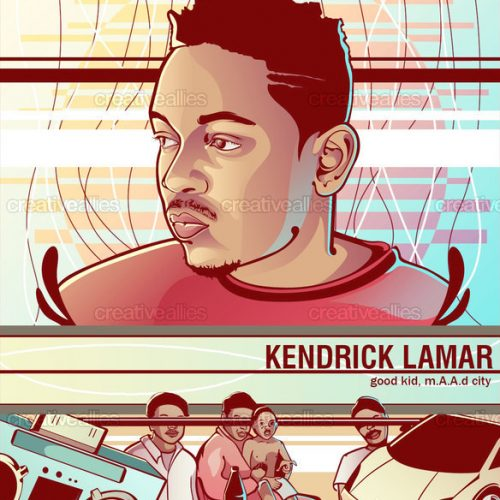 News: Kendrick Lamar Inspires Art Show
