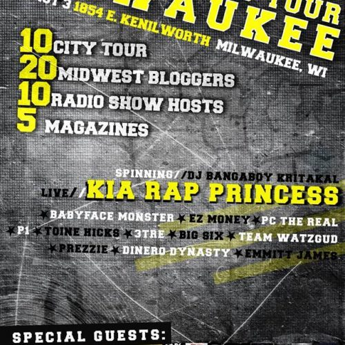 The Illixer & Babyface Monster Presents - MidWest Blog Tour: Milwaukee