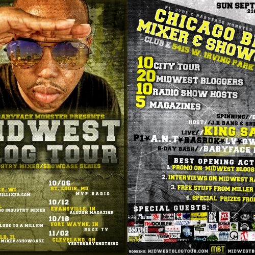 P1, 3Tre, & Babyface Monster Presents - MidWest Blog Tour: Chicago Mixer & Showcase