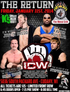 official flyer for ICW 1/31