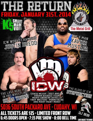Spotlight On: The Return Of Insane Championship Wrestling
