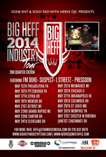 Big Heff's 2014 Mid-West Industry Tour Returns To MKE