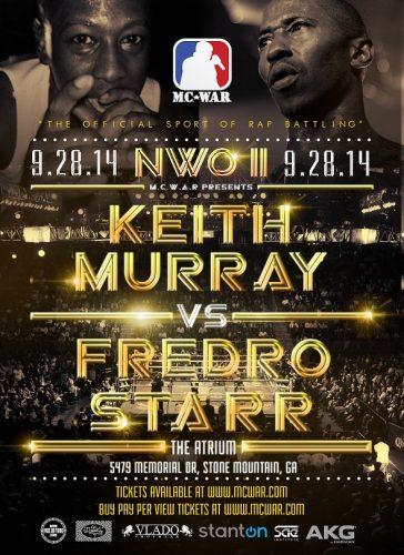 News: Fredro Starr & Keith Murray Set To Battle This September