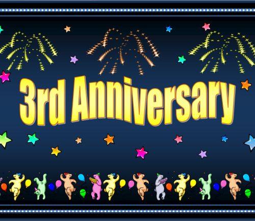 The Illixer's 3 Year Anniversary