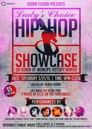 Lady Fusion Presents: Lady's Choice Hip-Hop Showcase