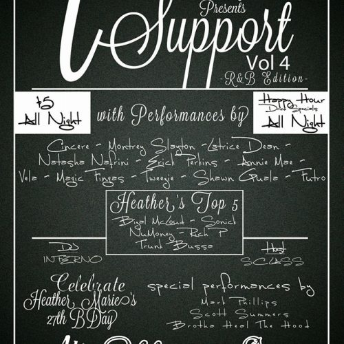 #ISupport Volume 4 (R&B Edition) - Release Event