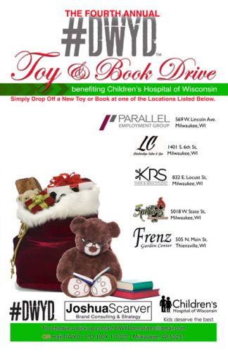 Spotlight On: #DWYD Presents: 4th Annual Toy & Book Drive for Children's Hospital
