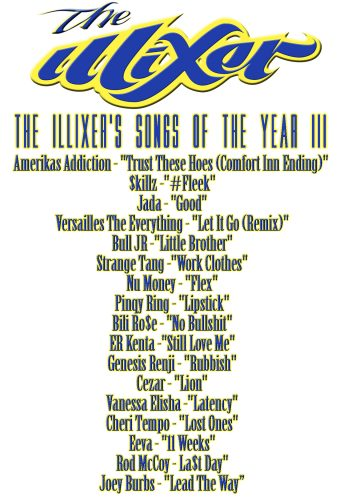 The Illixer's Songs Of The Year (2015)