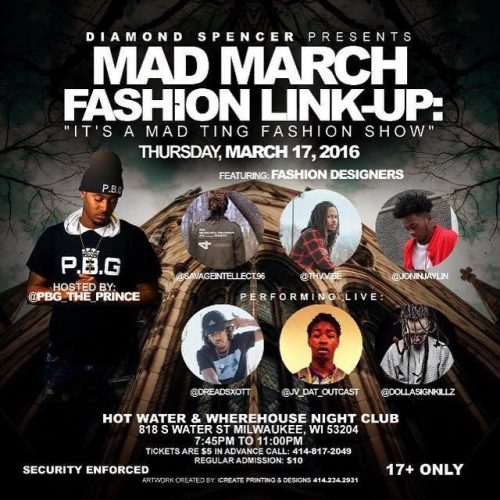 Diamond Spencer Presents: Mad March Fashion Link-Up: It's A Mad Ting Fashion Show